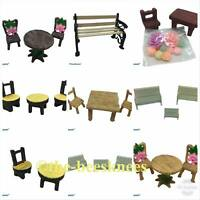 NEW Fairy Garden Accessories Benches Tables Chairs Sets UK SELLER FREE POST