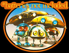 80's Sci-Fi Comedy Classic *Batteries Not Included Robots custom tee Any Size