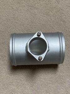 """MAF Sensor Housing Flange 76mm 3"""" Aluminium for VW GTI 1.8T VR6 R32 Turbo Golf"""