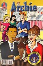BARACK OBAMA & SARAH PALIN in ARCHIE Comics # 616  NEW/UNREAD 2010 Riverdale