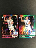 2020-21 Panini Prizm Draft Cole Anthony SP Pink Ice RC & Green Prizm RC SP Magic