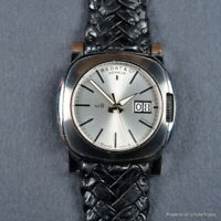 BEDAT No 888 AOSC BIG DATE AUTOMATIC 40MM SILVER FULL SET BOX PAPERS RETAIL 6200