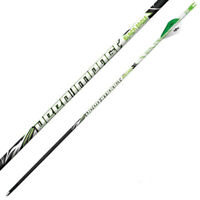 Black Eagle Spartan Carbon Hunting Arrows Shafts Only .001 12 pack All Spines