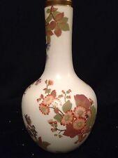 """Early 10"""" Royal Worcester Floral Blush Vase"""