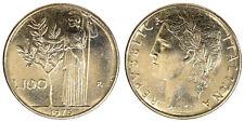 100 LIRE 1976 MINERVA REPUBBLICA ITALIANA ITALY Fdc Unc (da rotolino) £20