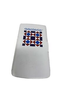 Quilter's FabriCalc: Calculated Industries Quilt Design & Fabric Estimating 8400