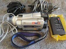 "Sony Dcr-Trv27 MiniDv Digital Handycam Camcorder 3.5"" Lcd, remote-charger-cords"