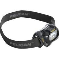Pelican Black ProGear 2740 LED Head Light / Head Torch Runtime Of 50 Hours