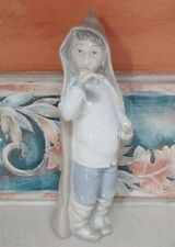 "Lladro #4896 ""Boy with Snails"" figurine - GOOD,no box,RV$465"