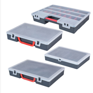 Storage Case Tool Box DIY With Multi Compartments In 3 Good Sizes, Stackable
