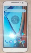 Motorola Moto G4 (4th Gen) XT1625 - 16GB - White Smartphone Consumer Cellular CC
