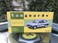 Vanguards Ford Fiesta MK1 XR2 Strato Silver 1/43 MIB Ltd Ed VA12501