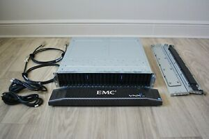 "Hard Drive Array EMC VNX e3200 BPE25Hybrid SAS SATA 2.5"" 10GB 6GB SAS Ethernet"