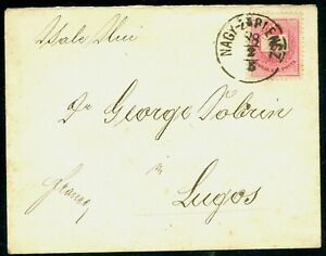1888 Nagy-Zarlencz/Zorlentu-Mare to Lugos/Lugoj/Hungary,Romania,cover