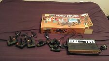 VTG RARE SEARS ATARI 2600 TELE-GAMES LIGHT SIXER CONSOLE IN ORIGINAL BOX 25 GAME
