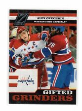 2010/11 Zenith Gifted Grinders Alex Ovechkin Insert