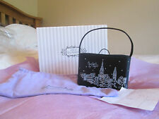 Lulu Guinness 'New York By Night' Limited Edition 1/500 Black Satin Evening Bag