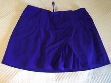 ATHLETA Purple Sneaky Pleats Skort Medium Tall MT