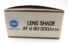 Minolta A Lens Shade for 80-200mm f/4.5-5.6 AF Zoom Xi Lens #6619810
