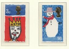 (48607) GB MNH Christmas phosphor set 1966 unmounted mint