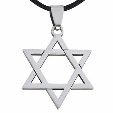 Star of David Necklace | Stainless Steel Star of David Pendant | Seal of Solomon