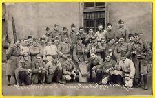 """cpa Carte Photo """" Père Cent """" MILITAIRES SOLDATS du 30e Régiment de Chasseurs"""