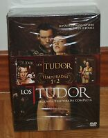 LOS TUDOR - THE TUDORS - 1º Y 2º TEMPORADAS COMPLETAS - 6 DVD - PRECINTADO-NUEVO