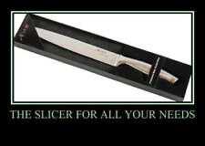 """Profession 8"""" Japanese Steel Slicer Kitchen Cutlery"""