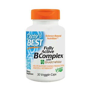 Doctor's Best, Fully Active B Complex, 30 Veggie Capsules