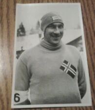 OLYMPIA 1936 PHOTO CARD IVAR BALLANGRUD