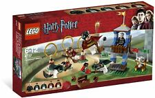 Brand New Lego Harry Potter 4737 Quidditch Match Includes Rare Hooch Minifigure!