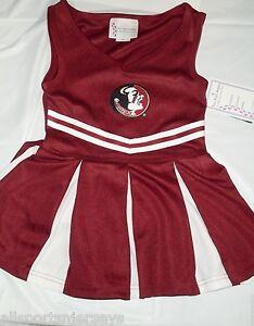 NCAA NWT TODDLER CHEERLEADER DRESS - FLORIDA STATE - 2T
