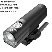 ROCKBROS Head Front Light 800LM Waterproof Cycling Light USB Rechargeable LED