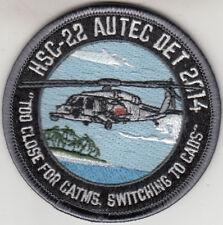 HSC-22 AUTEC DET 2014 SHOULDER PATCH