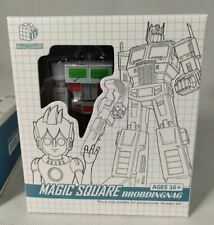 MS TOYS Transformers Robots toys Magic Square MS-B18W White Figure In Stock