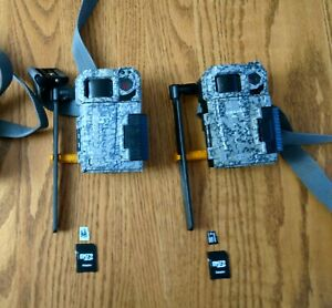 SPYPOINT LINK MICRO-WM-V 8MP Cellular Trail Cameras lot of 2