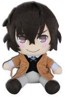 *Legit* Bungo Stray Dogs 8'' Authentic Anime Plush Toy Doll Osamu Dazai #52271