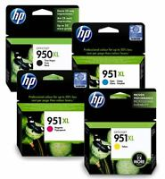 CARTUCHOS ORIGINAL HP 950XL/951XL - negro, color (cian, magenta y amarillo)