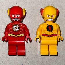 LEGO Reverse Flash Zoom Minifig SH471 and Flash Speed Force Freeze Pursuit 76098
