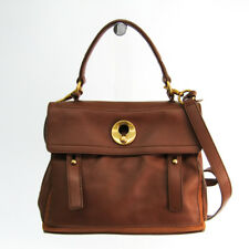 df644b6c04 Yves Saint Laurent Muse Two Muse Two 289278 Women s Leather Handbag Bro  BF330661