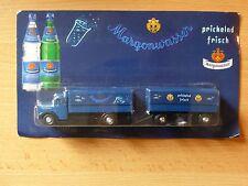 Modellino autocarro per birra Rimorchio trasporto MAN D'EPOCA margonwasser MK 3
