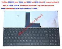 New for Toshiba Satellite C50-B C55-B C55-B5200 C55-B5201 laptop Keyboard black
