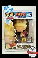 Funko Pop Naruto Six Path Sage GITD Specialty Series Exclusive *IN-HAND/MINT