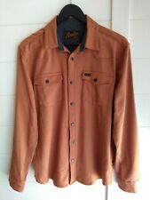 Howler Brothers Stockman Stretch Ember Snap Button Front Shirt Mens L/S Medium