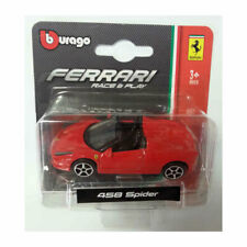 Bburago 56000 Ferrari 458 Ragno Rosso Scala 1:64 Modellino Auto Nuovo! °