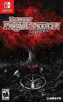 Deadly Premonition Origins - Nintendo Switch Standard Edition Region Free NEW