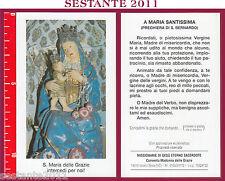 131 SANTINO HOLY CARD S. MARIA MADONNA  DELLE GRAZIE VARALLO SESIA VC