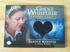 GHOST WHISPERER WORN COSTUME SWATCH PIECEWORKS TRADING CARD CAMRYN MANHEIM GC17