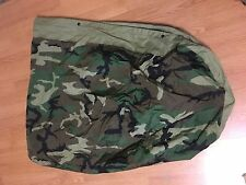 USGI Goretex Bivy Cover Sleeping Bag Woodland Camo w/ compression sack EUC