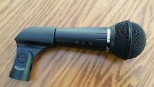 "SHURE AXS 2 DYNAMIC LowZ SWITCHED MICROPHONE WITH HOLDER & 5/8"" MOUNT"